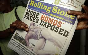 Newspaper: More Homos' Faces Exposed